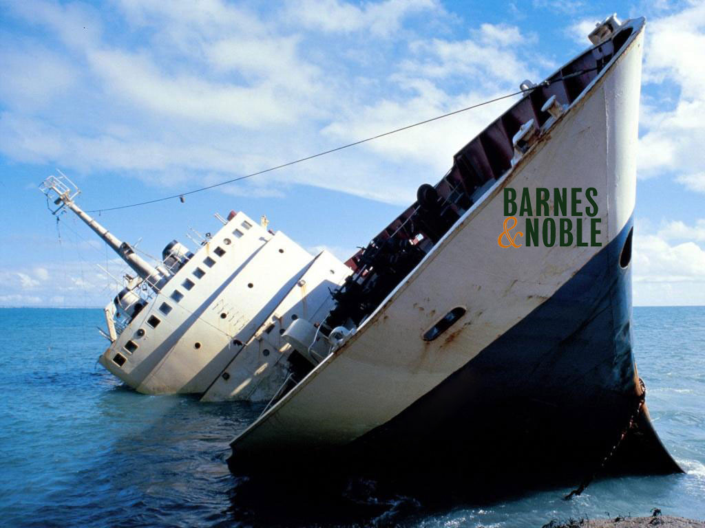 Barnes and Noble, the sinking ship