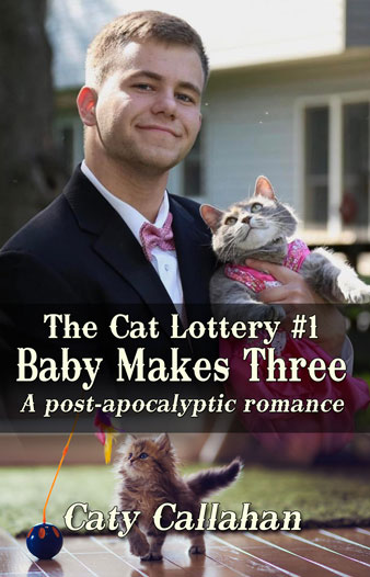 Cat Lottery 1 Baby Makes Three fake cover | Caty Callahan