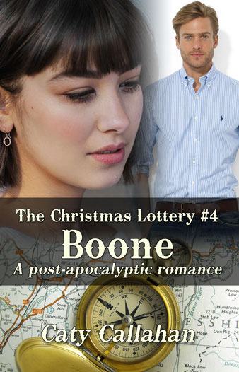 Christmas Lottery 4 Boone by Caty Callahan | Sweet Romances with Adventure