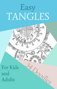 Easy Tangles 1 34 Doodles for Kids and Adults | Caty Callahan
