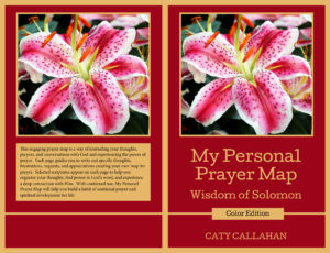 My Personal Prayer Map 1: Wisdom of Solomon by Caty Callahan | Christian Devotional Prayer Journal